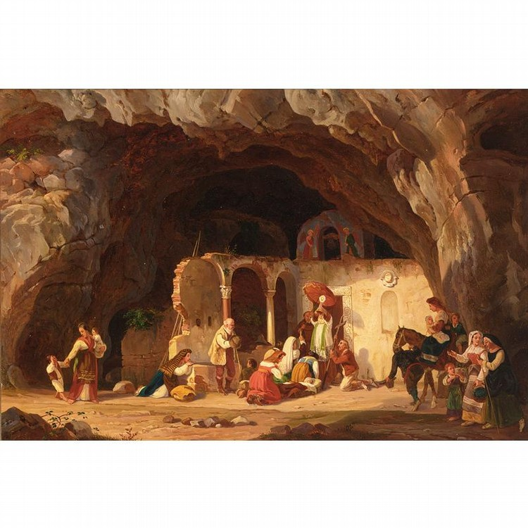 CARL WILHELM GÖTZLOFF GERMAN, 1799-1866