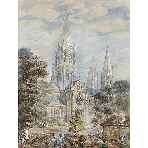 Axel Herman Haig 1835 - 1921 , st fin barre's cathedral, cork