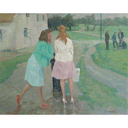 Patrick Leonard 1918-2005 , the village pump, rush