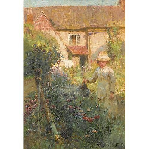 Walter Frederick Osborne, R.H.A. 1859-1903 , the garden