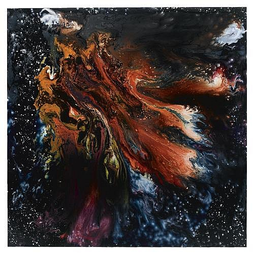 m - Keith Tyson , Nature Painting