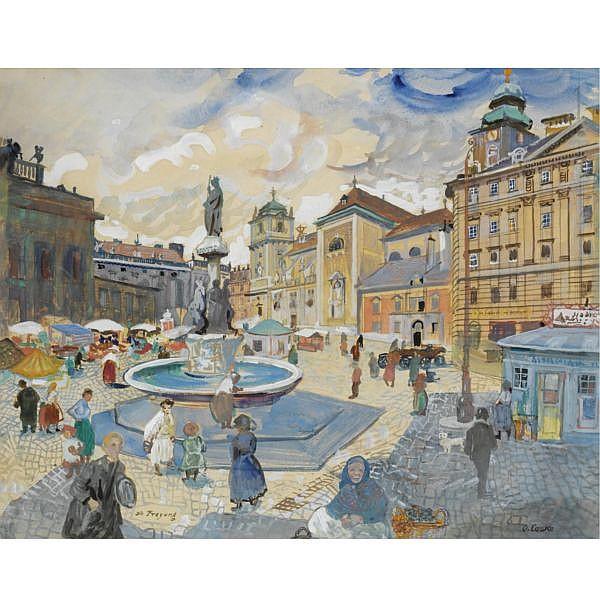 Oskar Laske 1874-1951 ,