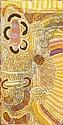 ELIZABETH NYUMI NUNGURRAYI Synthetic polymer paint on linen, Elizabeth Nyumi  Nungurrayi , Click for value