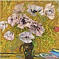 Sir Robin Philipson, R.A., P.R.S.A., R.S.W. , 1916-1992 Poppies oil on board   , Robin Philipson, Click for value