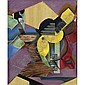 Juan Gris , 1887-1927 Guitare Oil and papier collé on canvas   , Juan Gris, Click for value
