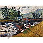- Maurice de Vlaminck , 1876-1958 Le Remorqueur Oil on canvas   , Maurice de Vlaminck, Click for value