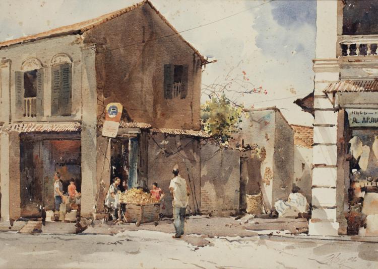 ONG KIM SENG | Street Scene