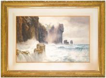 ARTHUR SUKER   Near Lands End; Sea Cliffs; Stacks