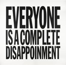JOHN GIORNO | Everyone is a Complete Disappointment