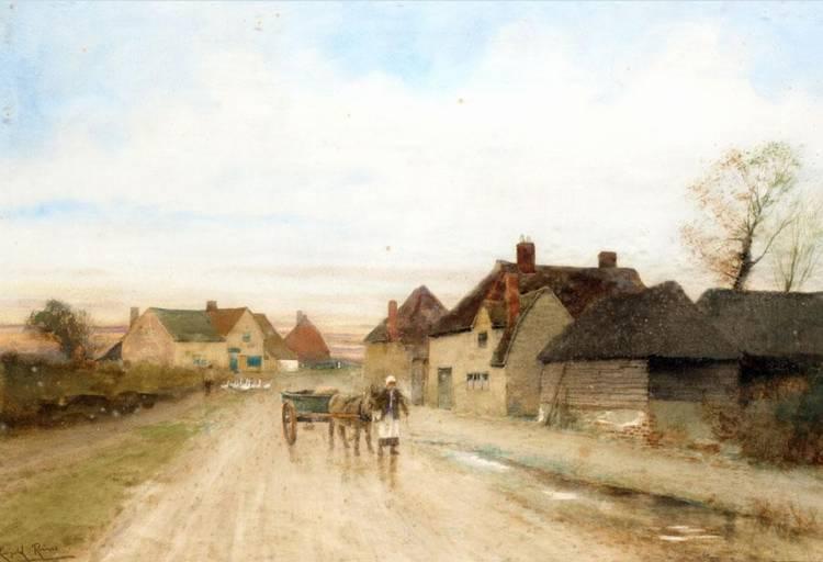 CARL SCHLOESSER, GERMAN 1832-1914