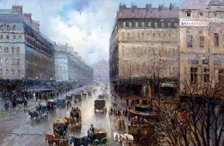 T*** E*** PENCK, FRENCH B.1929