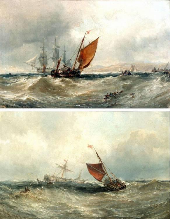 f - EDWIN HAYES, R.H.A., R.I., R.O.I., 1820-1904