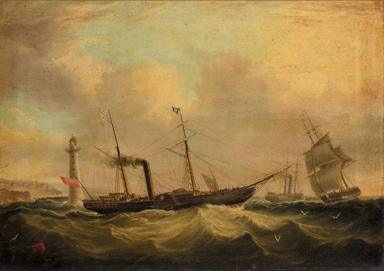 JOSEPH HEARD, BRITISH 1799-1859