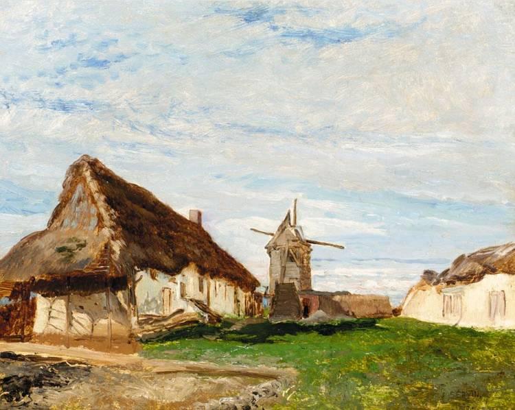 AMÉDÈE ELIE SERVIN, FRENCH 1829-1884