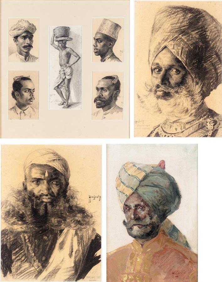 STUDIES OF INDIA, HUGO VILFRED PEDERSEN, 1870-1959