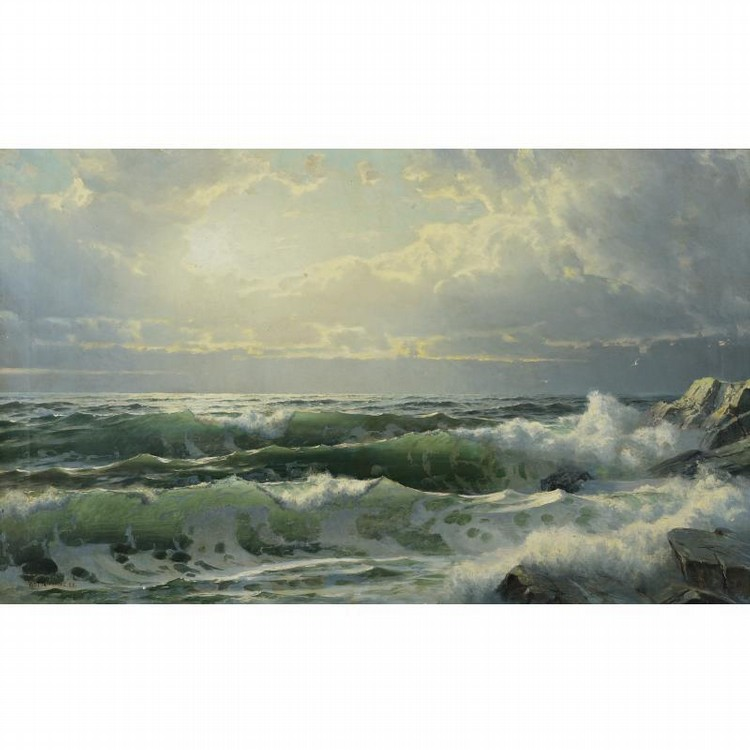 WILLIAM TROST RICHARDS 1833-1905