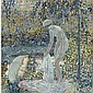 l - FREDERICK C. FRIESEKE 1874-1939, Frederick Carl Frieseke, Click for value