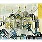 m - Remo Brindisi , 1918-1996 Venezia, San Marco olio su tela, Remo Brindisi, Click for value