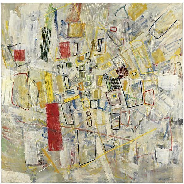 m - Tancredi , 1927-1964 Senza titolo olio su tela
