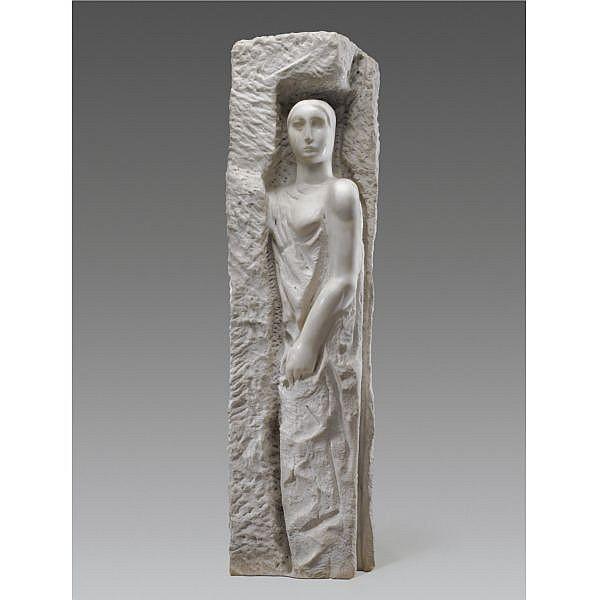 m - Mario Sironi , 1885-1961 Cariatide marmo