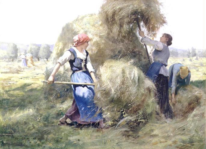 JULIEN DUPRÉ FRENCH, 1851-1910
