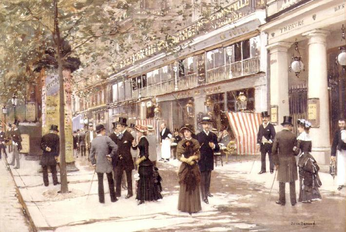 *JEAN BÉRAUD (FRENCH, 1849-1936)