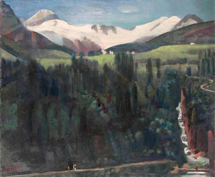 c - ALFRED HEINRICH PELLEGRINI 1881-1958