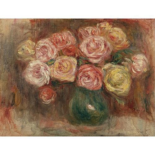 Pierre-Auguste Renoir , Vase de fleurs