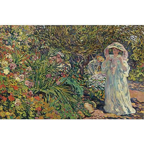 Louis Valtat , Suzanne Valtat, Le jardin d'Agay