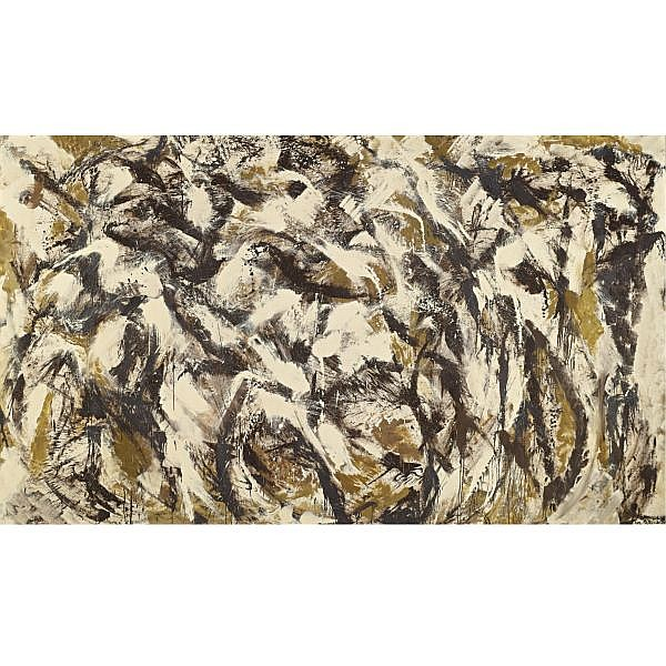 - Lee Krasner , 1908-1984 Polar Stampede oil on canvas