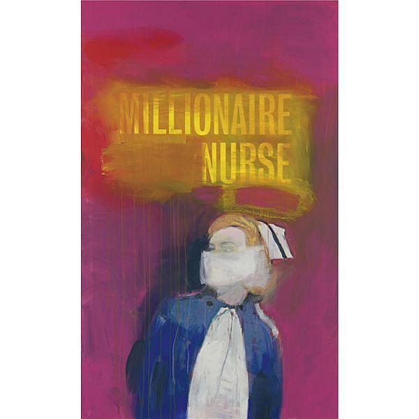 - Richard Prince , b. 1949 Millionaire Nurse ink jet print and acrylic on canvas