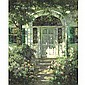 ABBOTT FULLER GRAVES 1859-1936 PORTSMOUTH DOORWAY Measurements: 30 by 25in. Alternate Measurements: (76.2 by 63.5 cm) signed Abbott Graves, l.l. oil on canvas Provenance: Sale: Christie's, New York, May 31, 1985, 235, illustrated Daniel B. Grossman, Abbott Fuller Graves, Click for value