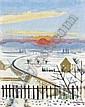- Niklaus Stoecklin 1896 - 1982 , ERSTER SCHNEE, HERBST, 1928   FIRST SNOW, AUTUMN, 1928   Öl auf Leinwand   , Niklaus Stöcklin, Click for value