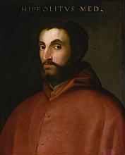 FLORENTINE SCHOOL, 16TH CENTURY | Portrait of Cardinal Ippolitode' Medici, bustlength
