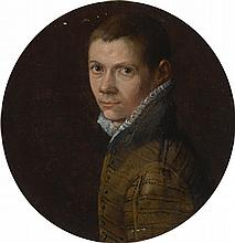 EMILIAN SCHOOL, 16TH CENTURY | Portrait of a youth, bust length, facing left, in a green striped doublet