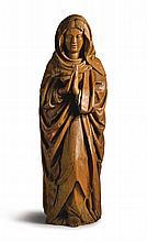 GERMAN, LOWER RHINE, MID 16TH CENTURY | Mourning Virgin