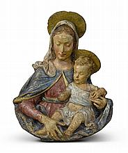 AFTER ANTONIO ROSSELLINO (SETTIGNANO 1427/1428- AFTER 1478 FLORENCE)<BR />NORTH ITALIAN, PROBABLY LATE 15TH CENTURY | relief of the Virgin and Child