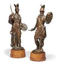 CIRCLE OF GIROLAMO CAMPAGNA (VERONA 1549 - 1625 VENICE) CIRCA 1600 | Mars and Minerva