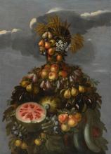 CIRCLE OF GIUSEPPE ARCIMBOLDO | Anthropomorphic allegory of summer