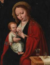 ATTRIBUTED TO AMBROSIUS BENSON | Madonna and Child