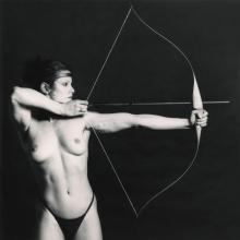 ROBERT MAPPLETHORPE | 'Bow and Arrow' (Lisa Lyon), 1981