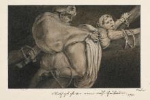 ALFRED KUBIN | Notzucht an einer mährischen Bäuerin (Violation of a Moravianfarmer)