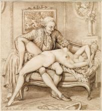 JEAN-MICHEL MOREAU, CALLED MOREAU LE JEUNE | Three erotic scenes