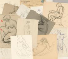 ARISTIDE MAILLOL | Portfoliod'études de nu
