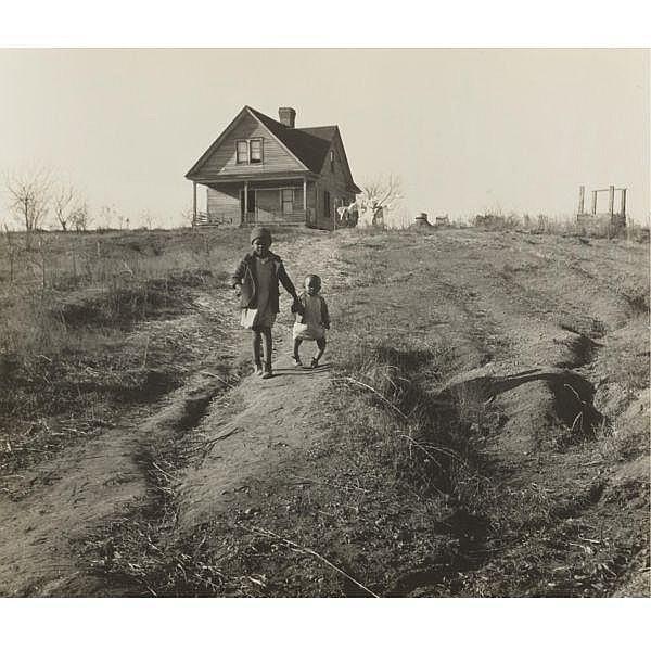 Marion Post Wolcott , 1910 - 1990   CHILDREN OF TENANT FARMER, WADESBORO, N. C.