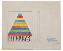 JOE TILSON, R.A. | Design for <em>Ziggurat</em>