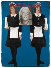 SIR PETER BLAKE, R.A. | Marilyn Monroe, Over a Painting, Over a Painting No.1