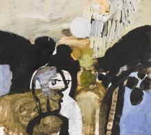 KEITH VAUGHAN | Landscape with Figures Conversing