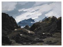 SIR KYFFIN WILLIAMS, R.A. | Mount Snowdon from Nantlle