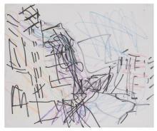 FRANK AUERBACH | Study for Mornington Crescent
